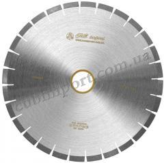 Пила дисковая для порезки гранита 400мм бесшумная