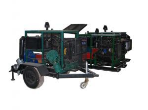 Pump stations stacionionarnye and mobile diesel