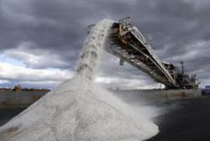 Salt technical the 3rd grinding in bulk