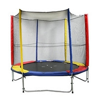 Trampoline with a protective grid of Jumbo TSM244
