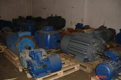 Electric motor of 500 kW 1500 RPM
