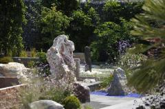 Fountains to order from a stone (marble)
