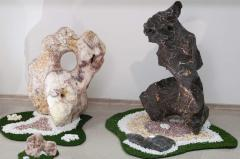 Sculptures from a stone