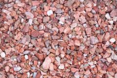 Pebble marble pink