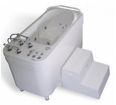 Vortex medical bathtub of AQUAPEDIS II