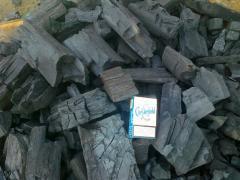 الفحم والخشب