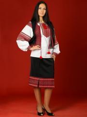 Вышитый женский костюм - вышиванка ЖК 10