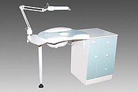 Table of A-1 for hardware manicure with extrac
