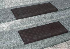 Antiskid rubber covering