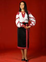 Вышитый женский костюм - вышиванка ЖК 11