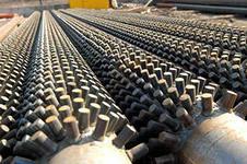 Thorns boiler shipovaniye of surfaces of heating