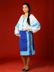 Вышитый женский костюм - вышиванка ЖК 12