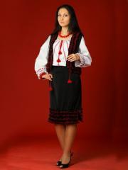 Вышитый женский костюм - вышиванка ЖК 13