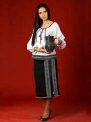 Вышитый женский костюм - вышиванка ЖК 16