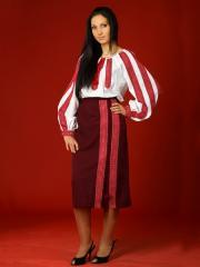 Вышитый женский костюм - вышиванка ЖК 17