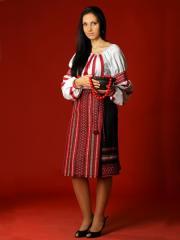 Вышитый женский костюм - вышиванка ЖК 18