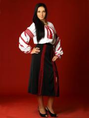 Вышитый женский костюм - вышиванка ЖК 19