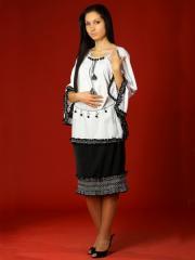 Вышитый женский костюм - вышиванка ЖК 14