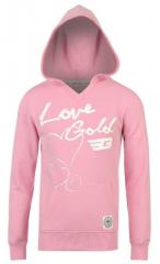 Кофта  для девочки розовая Golddigga