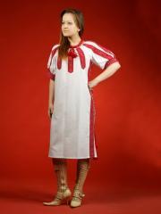 Женское платье - вышиванка ЖП 10-13