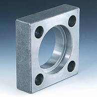Square flange of Cetop, welded flange (VK-ST250,