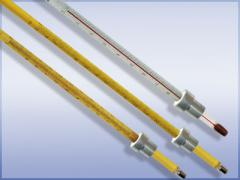 Thermometers glass for tests of TIN1 oil products