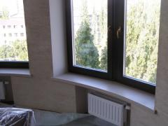 Window sills from an acrylic stone