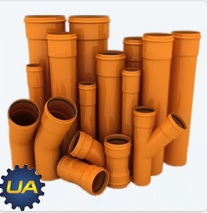 Наружная канализация, труба пвх