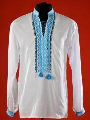 Вышитая сорочка (рубашка) для мальчиков ЧС 2-04s