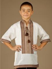 Детская рубашка-вышиванка ЧС 19-14Ls
