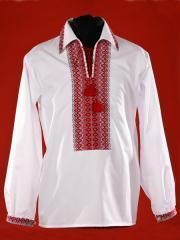 Вышитая сорочка для мальчиков ЧС 4-16s