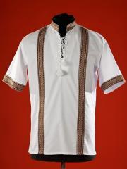 Мужская рубашка-вышиванка детская ЧС 17-14s