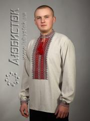 Мужская рубашка-вышиванка ЧС 2-25L