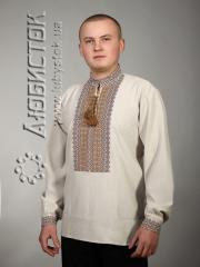 Мужская рубашка-вышиванка ЧС 2-7L
