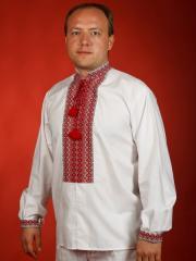Мужская рубашка-вышиванка ЧС 1-16