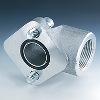 Flange (connection) for the pump (2 openings), a