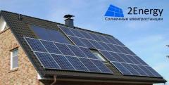 Солнечная электростанция под зеленый тариф для