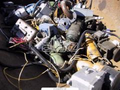 Scrap metal household sorted