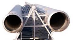 Ферменные самонесущие дымовые трубы