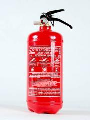 The fire extinguisher powder OP-2 (it is...