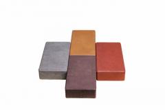 Stone blocks polimerpeschany (brick)