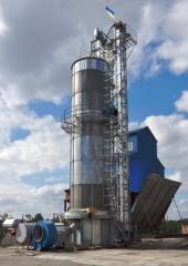 Zernosushilki (elevator) tower Astra-Ingul