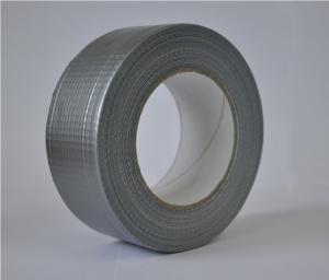 Sanitary adhesive tape on a fabric basis (duct