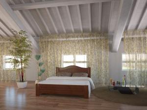 Кровати деревянные, Кровать АГАТА из натурального