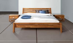 Кровати деревянные,Кровать АНФИСА из натурального