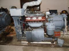 The engine 1D20 from storage, conversion, without