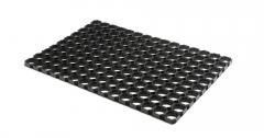 """Mud-clearing rubber rug """"Honeycombs"""
