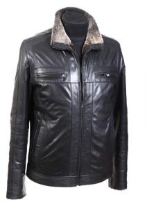 Sheepskin coats natural Model No. 080, man's