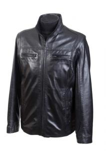 Leather men's jacket Model No. 079