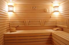 Baths, guest lodges to specify the price